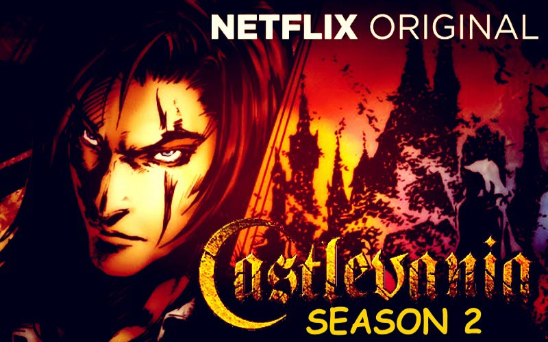 Castlevania Season 2 by Netflix