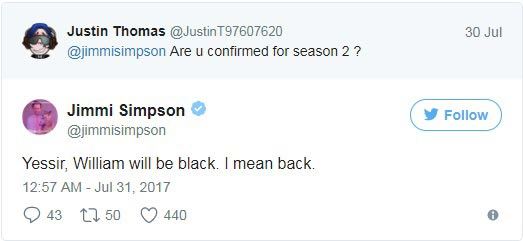 Jimmi Simpson Official twitter