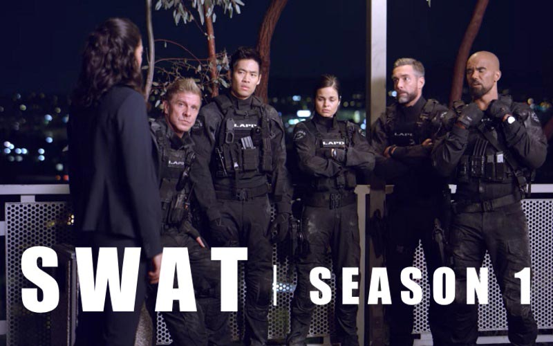 S.W.A.T. Season 1 with Shemar Moore on CBS