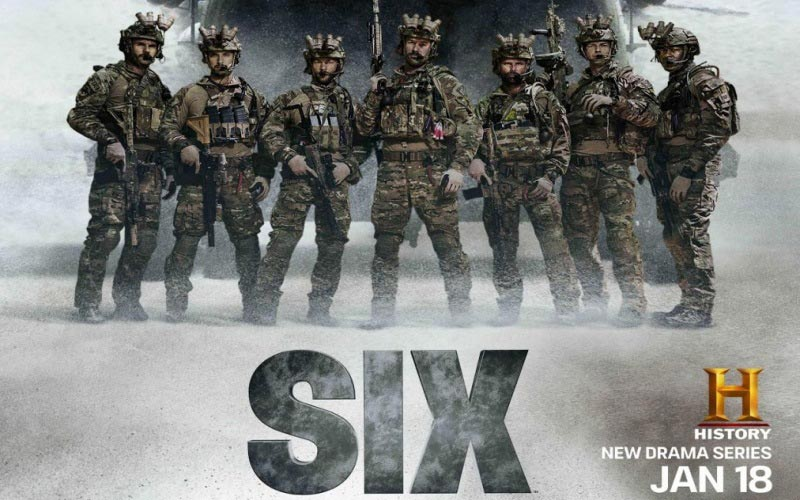 Six Season 2 - historical military drama