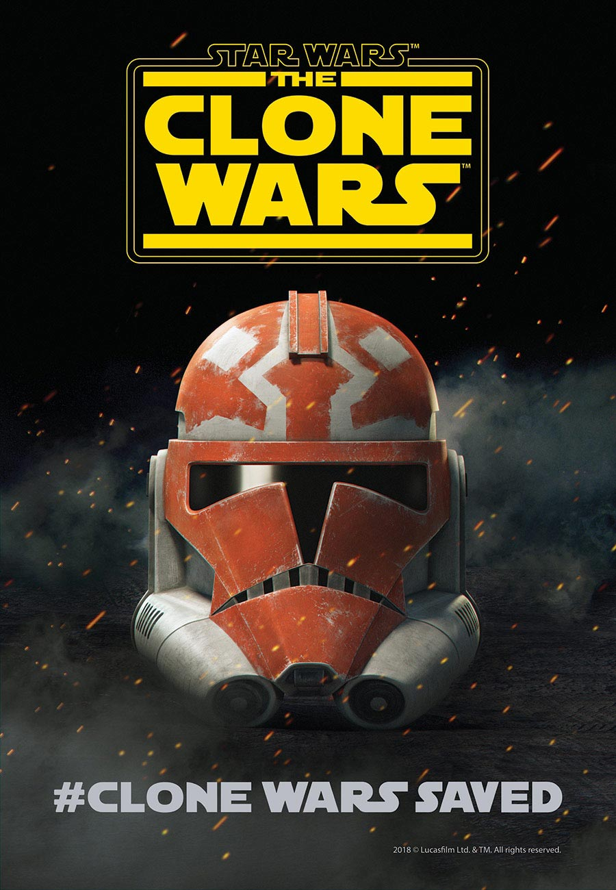 Star Wars: The Clone Wars Season 7 Poster