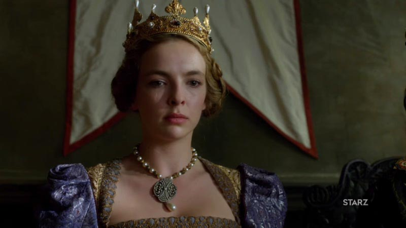 Jodie Comer (as Princess Elizabeth)