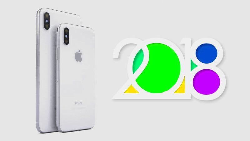 the release date for Apple iPhone smartphones in 2018