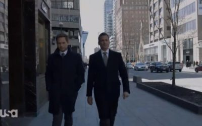 Mike Ross and Harvey Specter (Suits)